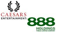 Caesars Entertainment Forges Online Poker Ties with 888 for U.S. Market