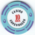 Casino Copenhagen poker chip