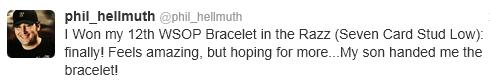 Hellmuth tweet