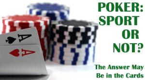 Poker sport