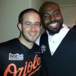Shaun with 2012 WSOP Main Event champion Greg Merson