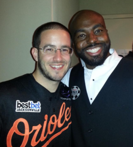 Shaun with 2012 WSOP Main Event champion Greg Merson