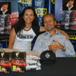 Patty Landis with Daniel Negreanu