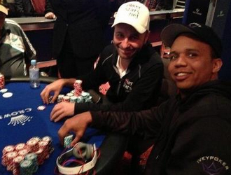 Daniel Negreanu and Phil Ivey