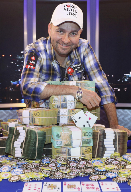 Daniel Negreanu wins bracelet #5 at WSOP APAC Main Event