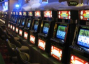 A bank of video poker machines in a land-based casino