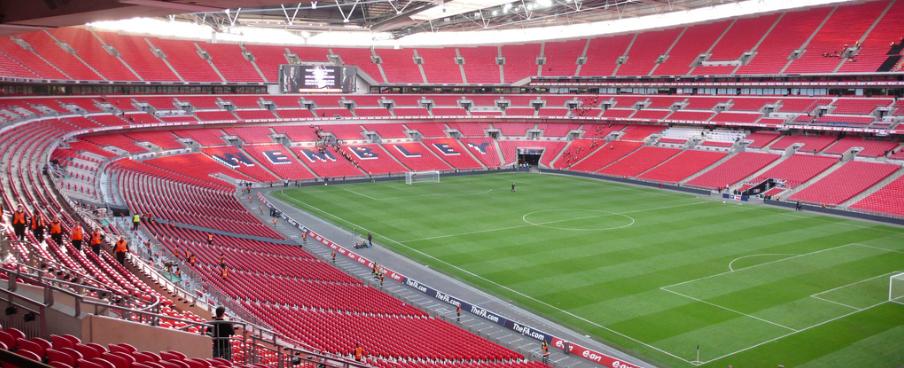 Empty Wembley