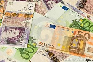 pounds euros