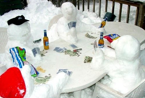 Cold poker