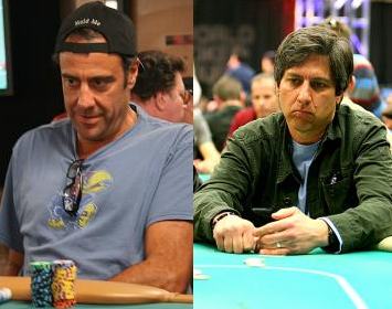 Brad Garrett and Ray Romano
