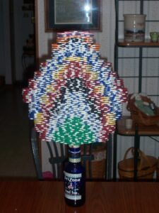 poker chip stack