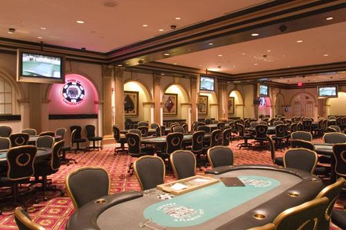 Caesars AC poker room