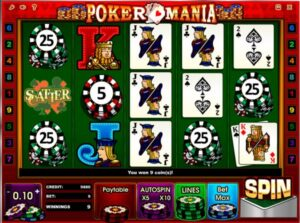 free slot machine video poker