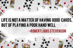 cards quote