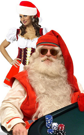 Santa poker
