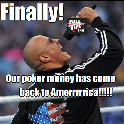 Finally The Rock Full Tilt Poker