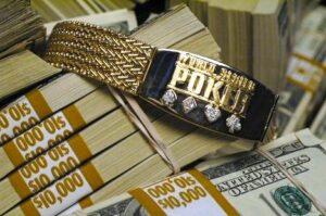 WSOP poker bracelet