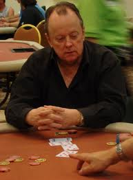 Robert Turner playing poker