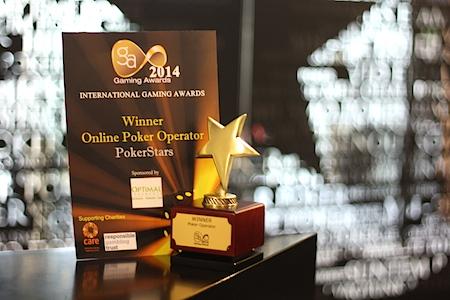 PokerStars gaming award
