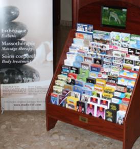 rest stop brochures