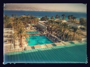 Eilat, from the hotel window