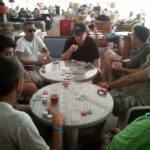 company poker game