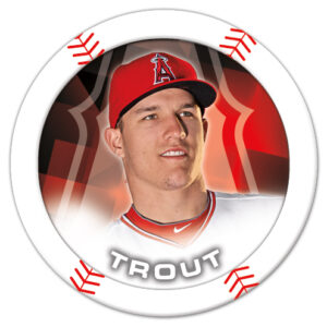 Mike Trout poker chip