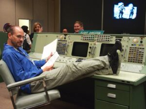 BJ Nemeth at NASA's Johnson Space Center