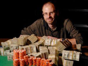 BJ Nemeth winner photo with cash