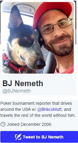BJ Nemeth on Twitter