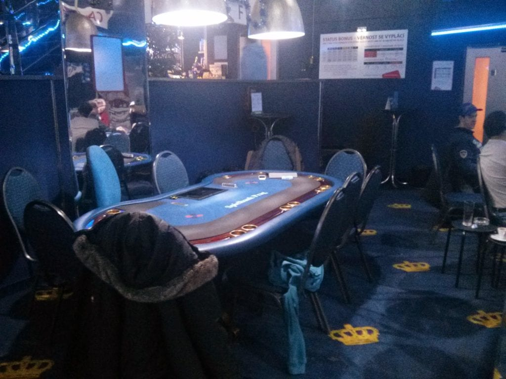 Showdown Poker Club Prague