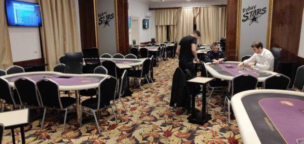Rebuy Stars poker room Prague