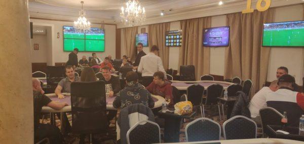 Rebuy Stars tournament poker room Prague
