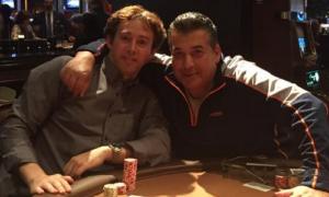 Avi Liberman and Vinnie Favorito