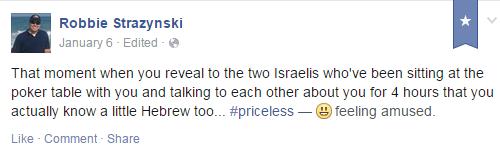 shock Facebook status