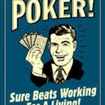 poker for a living
