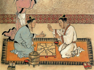 ancient gambling