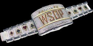 WSOP main event bracelet