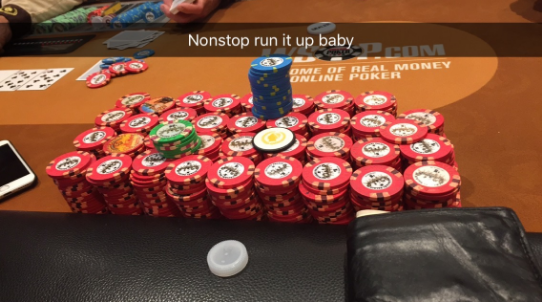 Zach Resnick chip stack