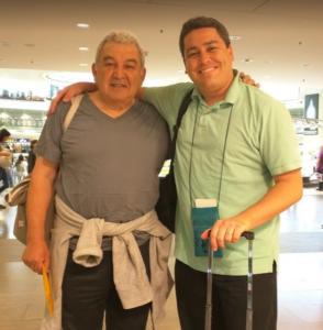 Robbie Dad travel