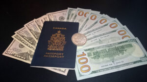 Canada passport money