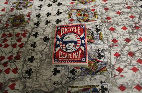 Bicycle escape deck