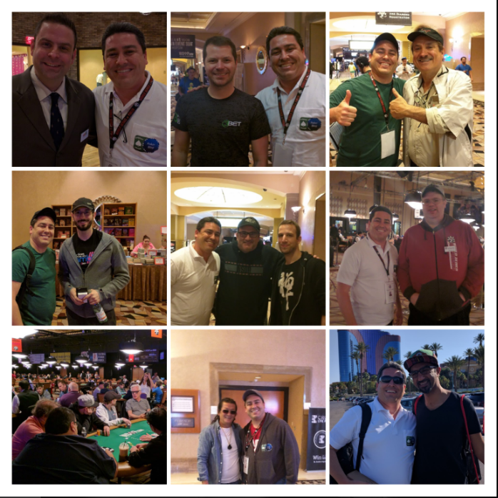 WSOP collage