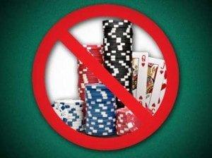 No poker