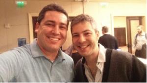 Robbie and Brian Saslavchik