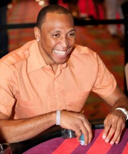Shawn Marion playing poker