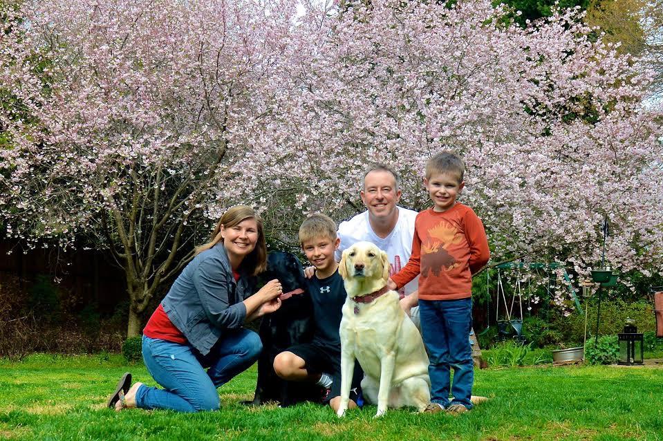 Brad Willis family