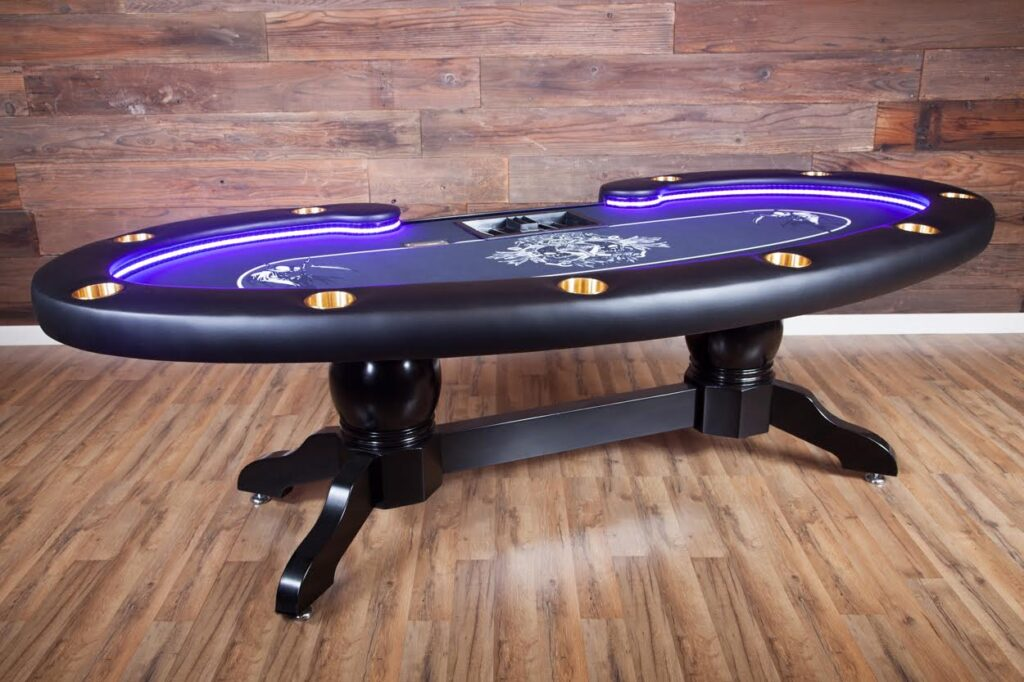 BBO lumen poker table