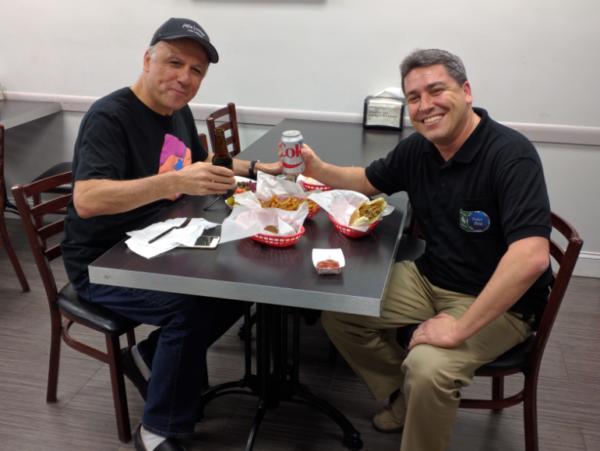 Lunch with Eli Elezra