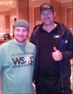Ryan Sackett Phil Hellmuth
